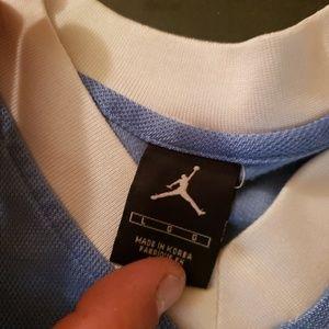 Jordan Shirts - Jordan unc warm up